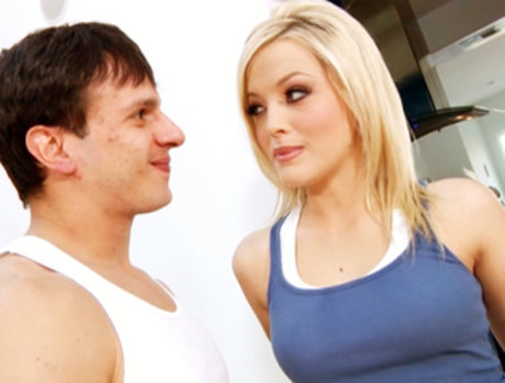 Alexis Texas Gets Her Pussy Slammed From Behind By Anthony Rosano.