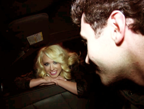 James Dean Gets Lucky When He Offers To Share A Cab With Kagney Linn Karter!