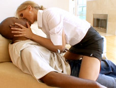 Julia Ann Couldn't Wait To Get Nailed By Some Big Black Dong!