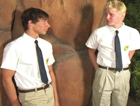 Schoolboy Gets Punished, then Misbehaves More