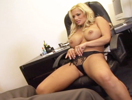 Shyla Stylez the Hot Blonde Sex-Retary