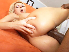 Hardcore Interracial Anal with Velicity Von