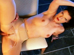 'Ronita' - 1 on 1 with Seductive Brunette in Pantyhose - Anal