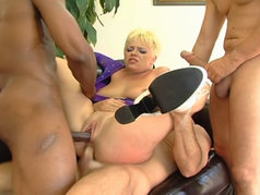 Missy Monroe's Holes Host Anal and Double Penetration in a Gang Bang