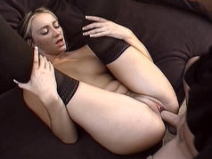 Hardcore ''Honey'' Fucking, Sucking and Wearing a Cumshot on Her Belly