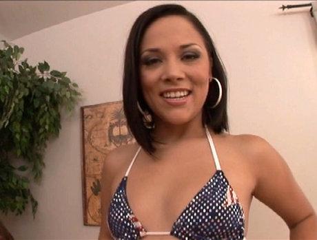 Kristina Rose Begging for a Blowjob Gang Bang and Bukkake