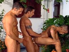 Renato Bellagio and Sergio Foster - Group Sex