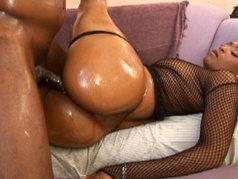 Kara Kane Makes L.T. Cum Twice with Blowjob and Anal