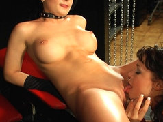 Jamie James and Cutie Angel - Kinky Lesbians with Toys