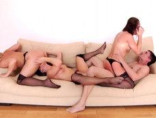 Alexis Texas + 3 = Group Sex!