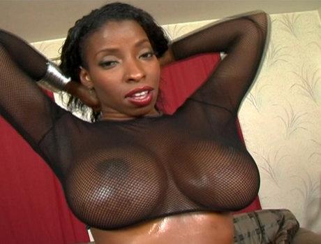 Vanessa Blue - Flawless Ebony Beauty Loving Anal
