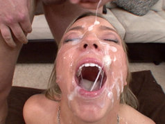 Ally Kay Blowjob Gang Bang