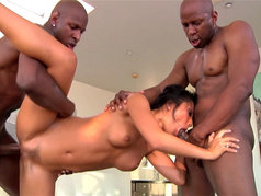 Kinky Interracial Threesome with Hardcore Asian Asa Akira