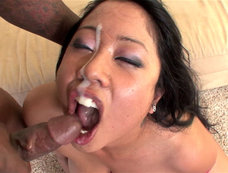 Chubby Asian Kya Tropic Fucks and Sucks