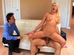 Jamie Applegate Makes Her Man Watch