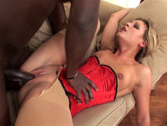 Must See! Interracial Anal with Kristina Blond