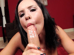 Katie St. Ives is Very Excited to Swallow Cum