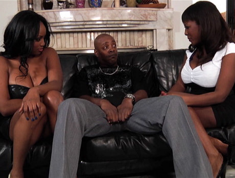 Jada Fire and Sierra - Ebony Anal Threesome