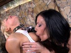 Aliz and Brittney's Lesbian Fantasy