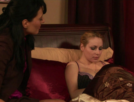 Lilly Lovely and Zoey Holloway - Wine and Love