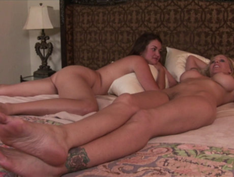 Allie Haze and Julie Ann - From Pillow Talk to Round Two