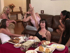 Allie Haze Gets Daring at Girls Night In