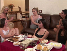 Allie Haze Gets Daring at Girls Night In