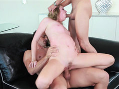 Jessie Andrews Gets Wined and 2 on 1'd