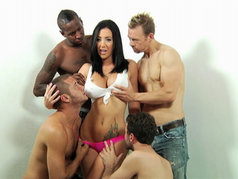 Jayden Jaymes Warms Up for Tomorrow's Big Video