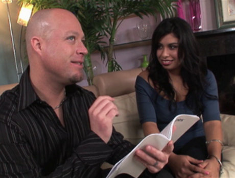 Michelle Rica - Chubby Latina Lets Him Do More than Look