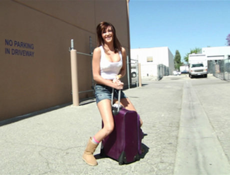 Holly Michaels On Her Way to the Fun
