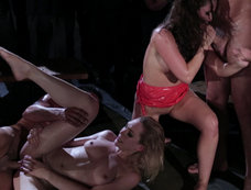 Lily Carter and Lily Labeau Gang Banged