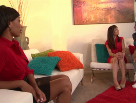 Cytherea, Dior Love and Olivia Wilder Threesome