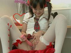 Petite Asian Masturbating On Camera