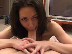 Sarah Shevon is Brunette Blowjob Heaven