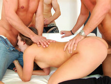 Remy LaCroix - Gang Bang, or Orgasmic Body Surfing?
