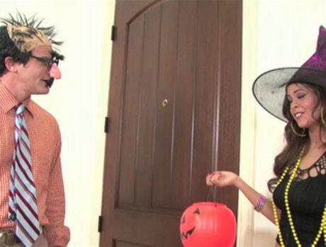 Cindy Jones Takes the Neighbor's Tricky Treat
