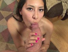 Nicole Ferrera - Frisky Latina Blows Minds & Swallows