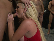 Alexis Ford Keeps Busy in ''Gangbanged''