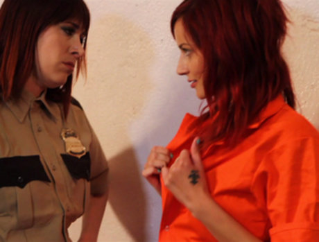 Phoenix Askani and Odile - Prison Bitches