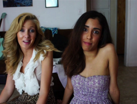 Emily Kae and Selma - Cum On my Come-On