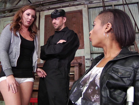 Maddy O'Reilly and Skin Diamond in a Threesome on 'Slutwoman'