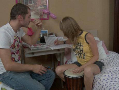 Aina Seduces the Music Tutor