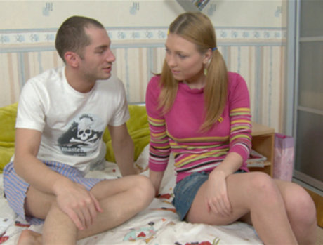 Andy Gets a Creampie in Her Fresh Bottom
