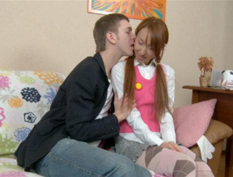 Ajenda - Petite Asian Gets an Anal Creampie
