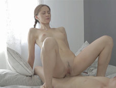 Brunette Meditates Until It's Time to Fuck