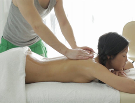 Eating Asian on the Massage Table