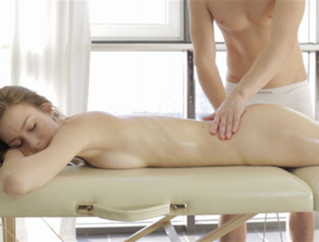 Tongue Touch Massage
