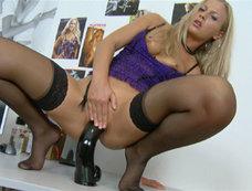 Size Queen Wields Her Big Black Staff