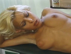Nikki Blond Lifts His Bar With Her Tongue